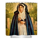 Irish Colleen Shower Curtain