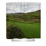 Irish Countryside Hdr Shower Curtain