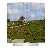 Irish Farms And Fields Shower Curtain