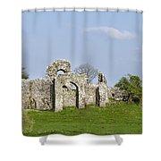 Irish Ruins Shower Curtain