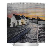 Rathvilly After The Rain Shower Curtain