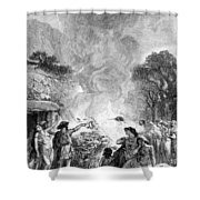 Iron Age, Funeral Ceremony Shower Curtain