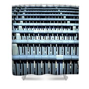 Iron Benches Shower Curtain