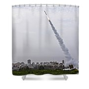 Iron Dome Shower Curtain