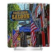 Iron Door Saloon - The Oldest Saloon In California Shower Curtain