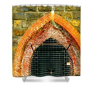 Iron Furnace Stack  Shower Curtain