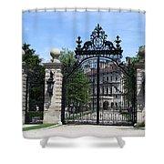 Iron Gate - The Breakers - Rhode Island Shower Curtain