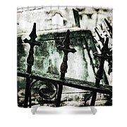 Iron Guard No.2 Shower Curtain