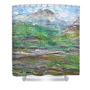 Iron Hills Shower Curtain