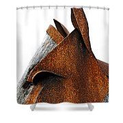 Iron Horse Shower Curtain