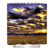 Iron Horse Still Strong Shower Curtain