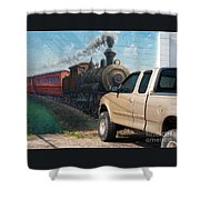 Iron Horsepower Shower Curtain