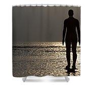 Iron Man Waiting For Sunset 1 Shower Curtain
