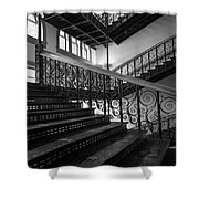 Iron Staircases Shower Curtain