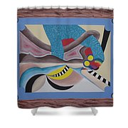 Irreconcilable Differences Shower Curtain