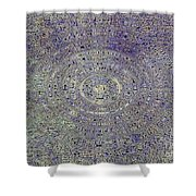 Irredescent Dreams Shower Curtain