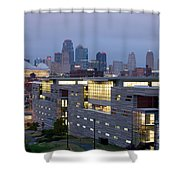 Irs Complex In Downtown Kansas City Mo Shower Curtain