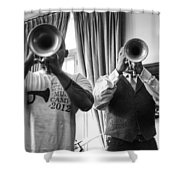 Irvin And Wynton Shower Curtain