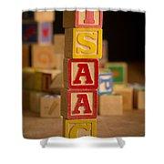 Isaac - Alphabet Blocks Shower Curtain