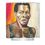 Isaac De Bankole Shower Curtain