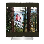 Isabella Through The Trees Shower Curtain