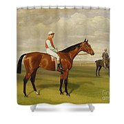 Isinglass Winner Of The 1893 Derby Shower Curtain by Emil Adam