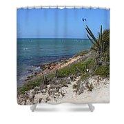 Isla Cubagua  Shower Curtain