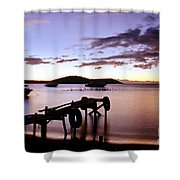 Isla Del Sol Bolivia Shower Curtain