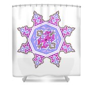 Islamic Art 06 Shower Curtain