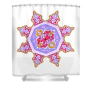 Islamic Art 07 Shower Curtain