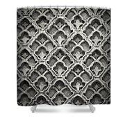 Islamic Art Stone Texture Shower Curtain