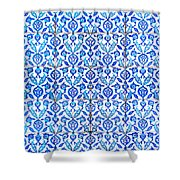 Islamic Tiles 01 Shower Curtain