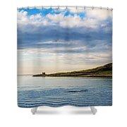 Island At Dublin Harbor Shower Curtain