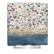 Island Beach State Park Shower Curtain