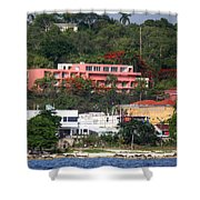 Island Colors Shower Curtain
