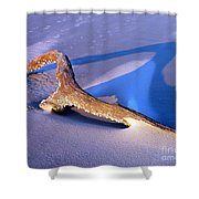 Island Driftwood Shower Curtain