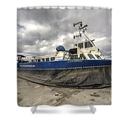 Island Express  Shower Curtain