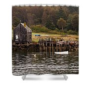 Island Fall Shower Curtain