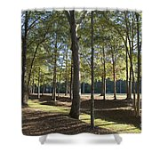 Island Fort Road Ninety Six National Historic Site Shower Curtain