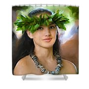 Island Girl Shower Curtain