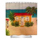 Island Life Shower Curtain