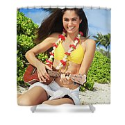Island Music II Shower Curtain