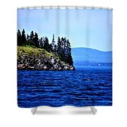 Island Of Pines Shower Curtain