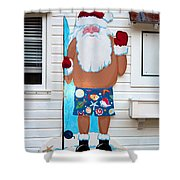 Island Santa Shower Curtain