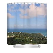 Island View From High Shower Curtain
