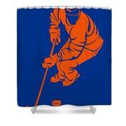 Islanders Shadow Player3 Shower Curtain
