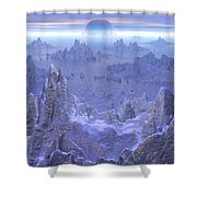 Islandia Evermore Shower Curtain