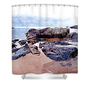 Islands Off The Shore Shower Curtain
