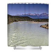 Islands On The River In Jasper Shower Curtain