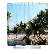 Isle @ Camana Bay Shower Curtain